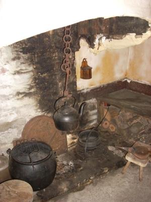 Hanging Chimney Hinging Lum Smoke Hood Fogolar Funnel Away Fumes Without Building