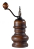 dark wood pepper grinder